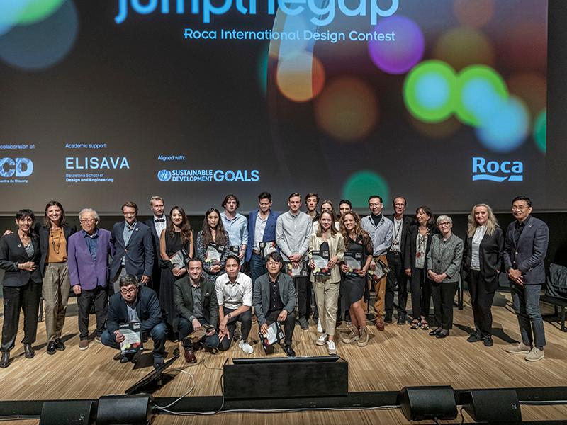 El concurso de diseño internacional jumpthegap® reconoce los mejores baños del futuro | Barcelona centro de Diseño