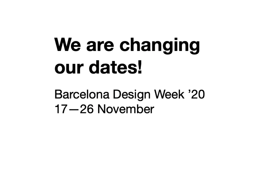 We are changing our dates! BDW '20 will be held in November | Barcelona centro de Diseño