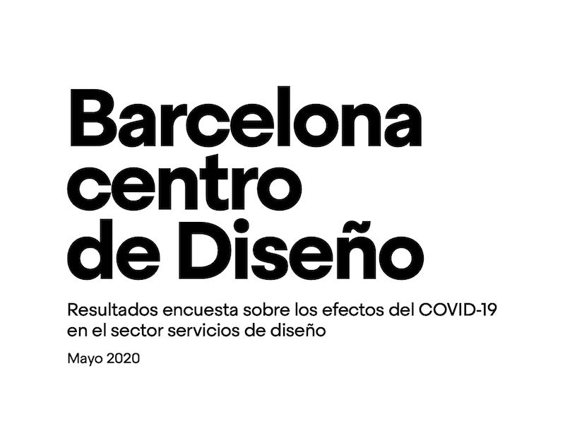 Resultados de la encuesta a las empresas sobre su situación durante la COVID-19 | Barcelona centro de Diseño